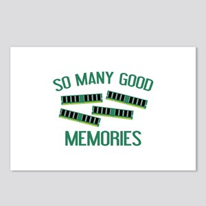So Many Good Memories Postcards (Package of 8)