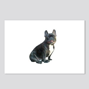 French Bulldog (blk)1 Postcards (Package of 8)