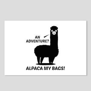 Alpaca My Bags Postcards (Package of 8)