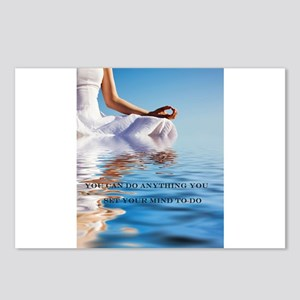 You Can Do Anything Affirmati Postcards (Package o