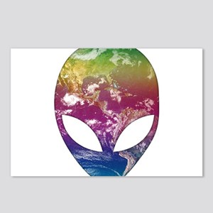 Cosmic Alien Postcards (Package of 8)