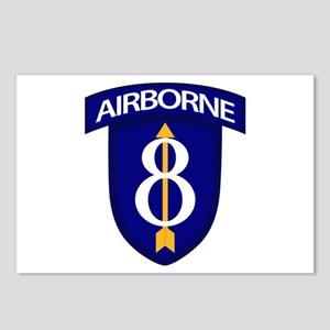 8th Infantry Airborne Postcards (Package of 8)