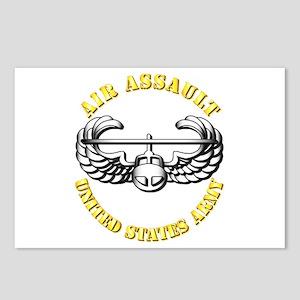 Emblem - Air Assault Postcards (Package of 8)