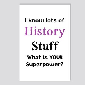 history stuf Postcards (Package of 8)