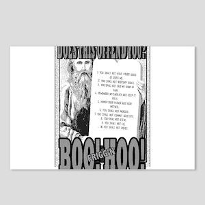 BOO FRIGG'N HOO! Postcards (Package of 8)