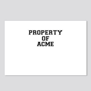 Property of ACME Postcards (Package of 8)