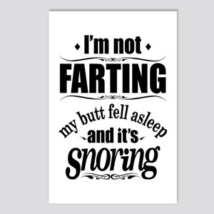 Fart Snoring Postcards (Package of 8)