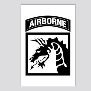 XVIII Airborne Corps B-W Postcards (Package of 8)