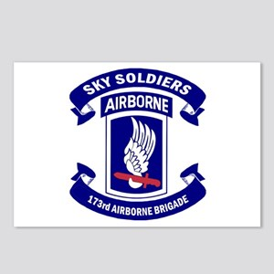 Offical 173rd Brigade Log Postcards (Package of 8)