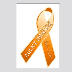 AO Orange Ribbon Postcards (Package of 8)