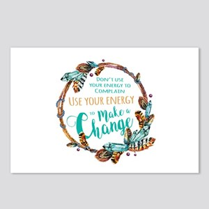 Make a Change Wreath Postcards (Package of 8)