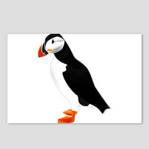 Pretty Puffin Postcards (Package of 8)