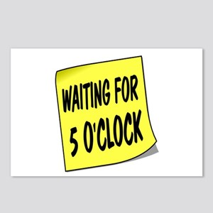 SIGN - 5 OCLOCK Postcards (Package of 8)