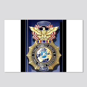 USAF Police GWOT Postcards (Package of 8)