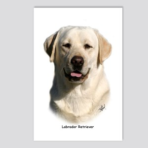 Labrador Retriever 9Y383D-267 Postcards (Package o