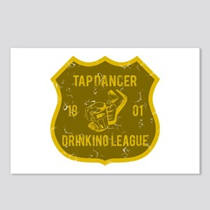 Tap Dancer Drinking League Postcards (Package of 8