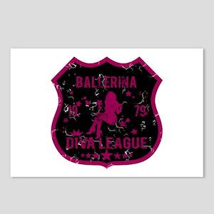 Ballerina Diva League Postcards (Package of 8)