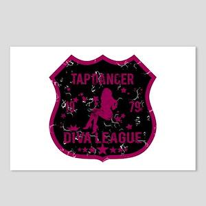 Tap Dancer Diva League Postcards (Package of 8)
