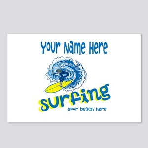 Surfing Postcards (Package of 8)