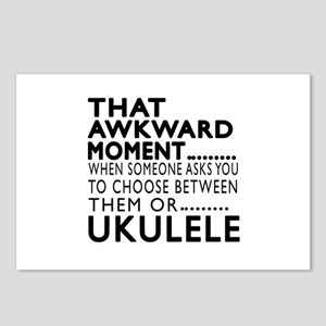 Ukulele Awkward Moment De Postcards (Package of 8)