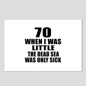 70 When I Was Little Birt Postcards (Package of 8)