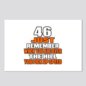 46 Just Remember Birthday Postcards (Package of 8)