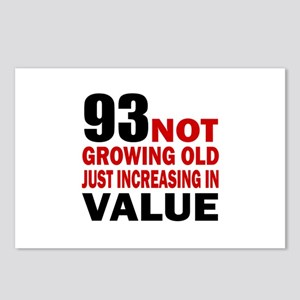 93 Not Growing Old Postcards (Package of 8)