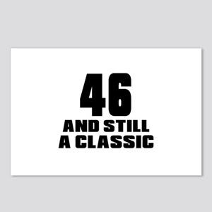 46 And Still A Classic Bi Postcards (Package of 8)