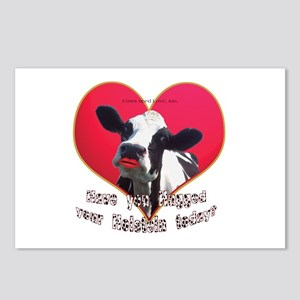 Cows Need Love Postcards (Package of 8)