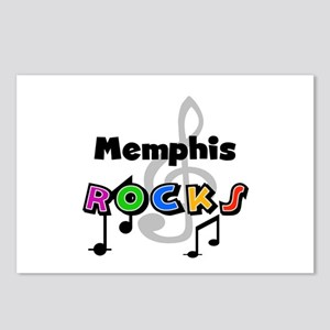 Memphis Rocks Postcards (Package of 8)