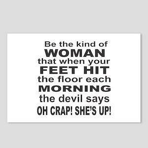 Oh Crap Devil Postcards (Package of 8)
