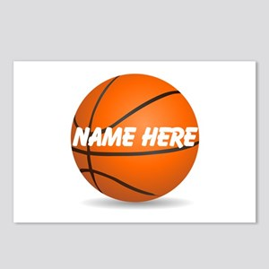 Customizable Basketball Ball Postcards (Package of