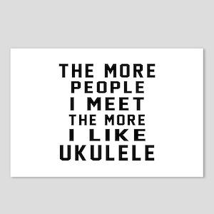 I Like More Ukulele Postcards (Package of 8)