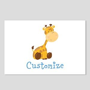 Custom Baby Giraffe Postcards (Package of 8)