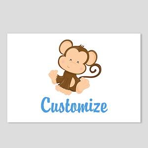 Custom Monkey Postcards (Package of 8)