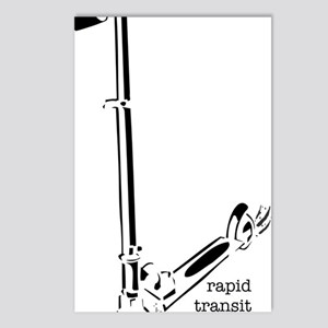 rapidTransit Postcards (Package of 8)