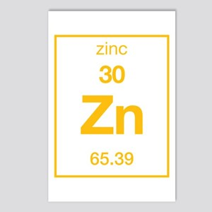 Zinc Postcards (Package of 8)