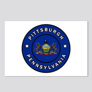 Pittsburgh Pennsylvania Postcards (Package of 8)