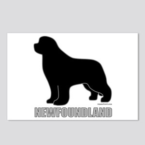 Newfoundland Silhouette Postcards (Package of 8)