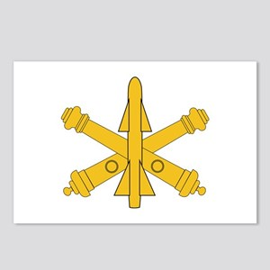 Air Defense Artillery Branch Insignia Postcards (P