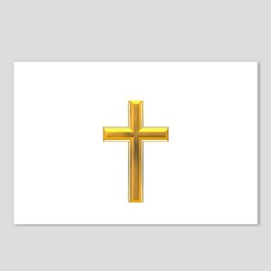 Golden Cross 2 Postcards (Package of 8)