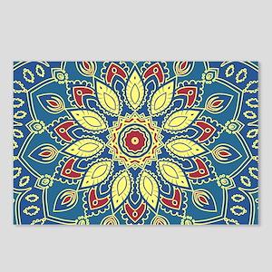 Mandala Flower Postcards (Package of 8)