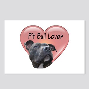 Pit Bull Lover Postcards (Package of 8)