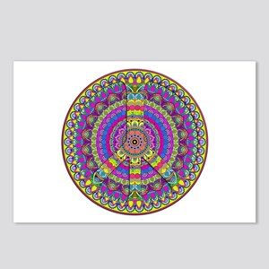 Peace Sign Mandala Postcards (Package of 8)