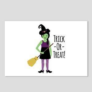 Trick - Or - Treat! Postcards (Package of 8)