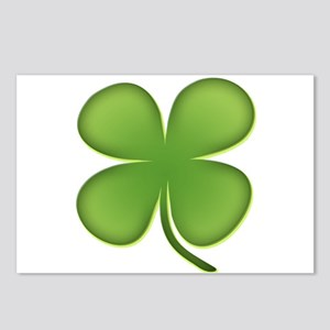 Lucky Irish Four Leaf Clover Postcards (Package of