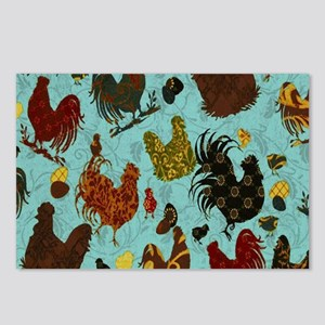 Fun Chickens Postcards (Package of 8)