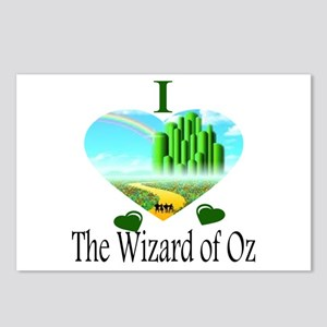 I Love The Wizard of Oz Postcards (Package of 8)