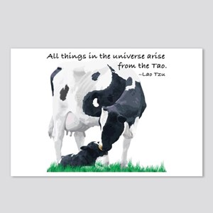 Tao Cow Postcards (Package of 8)