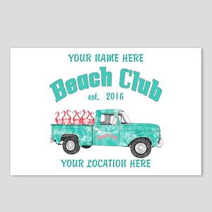 Flamingo Beach Club Postcards (Package of 8)